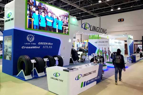 Latest Linglong Green-Max tyres Launched at Automechanika Dubai 2018