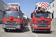 XCMG Gets an Order for V5 Firefighting Trucks Worth Fifty Million Yuan