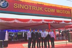 Sinotruk CDW Opens Flagship Store in Mandalay, Myanmar