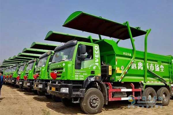 SAIC Hongyan Sold Over 6,900 Units Heavy-duty Trucks in April