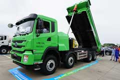 BYD Delivers World's First 500 Units T10ZT Electric Dumper Trucks in Shenzhen