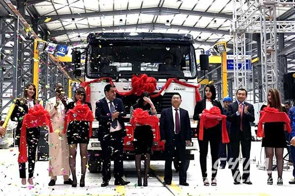 SHACMAN Opens First Truck Assembly Plant in Algeria