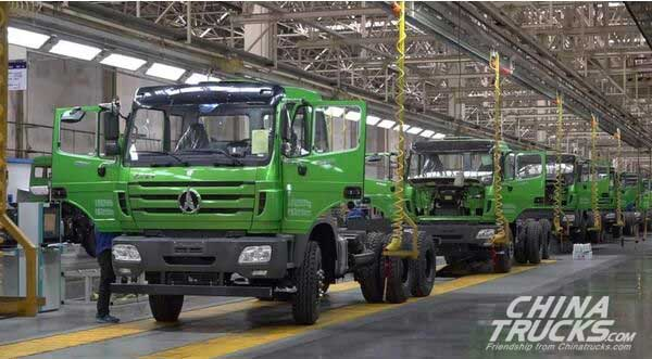 Beiben's Production Volume in April Hit a New High in April