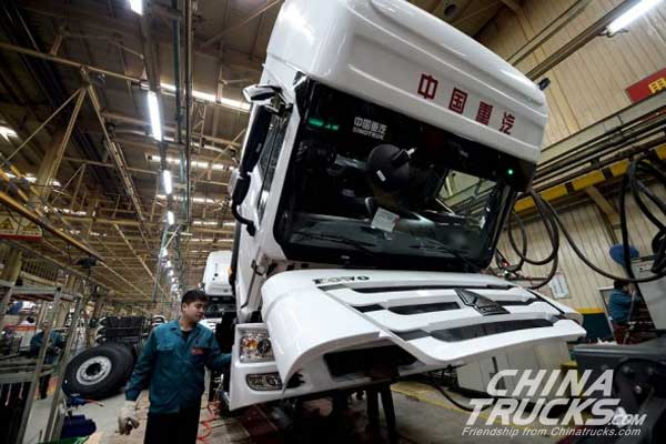 Sinotruk's Overseas Revenue Expects to be Half of the Total by 2020