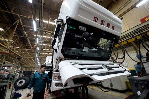 Sinotruk's Overseas Sales to Make up Half of All Sales by 2020
