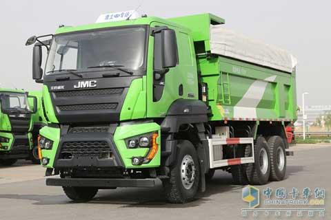 JMC Weilong  6×4 Dumper+FORD Power