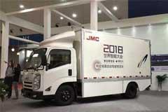 JMC Debuts Autonomous Driving Delivery Vehicle at WIC