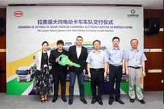 BYD Lands Deal for 200 Electric Trucks with Corpus in Brasil