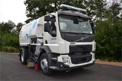 First Volvo Hydrostatic Road Sweeper with Allison Transmission to Debut at IFAT