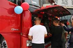 100 XCMG HAVAN G7 LNG Trucks Delivered to Customers for Operation