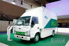 Qingling EV100 Narrow-body Delivery Truck+Lithium Iron Phosphate Battery