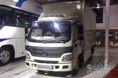 Foton Aumark Electric Logistics Vehicle Attends EVTec China 2018