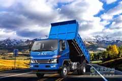 JAC Construction Dump Truck Excels in Mountainous Region