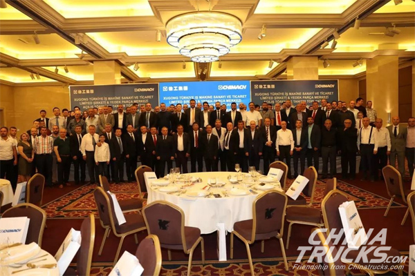 XCMG Turkey Co., Ltd. and Spare Parts Center Opened in Ankara
