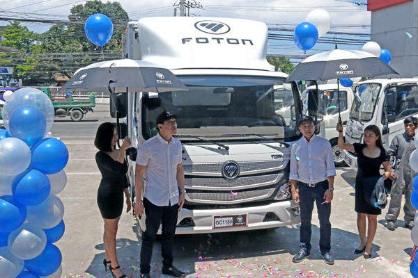 FOTON Opened Its 25th Philippine Dealership - Talisay Dealership