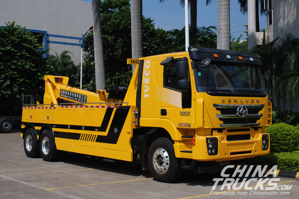 China's Renowned Wrecker Fleet Chooses Allison Transmissions