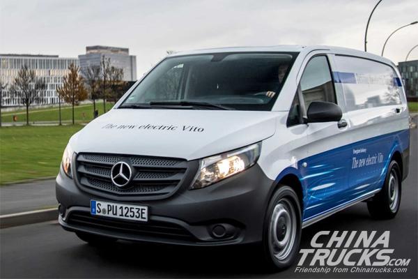 Amazon is Adding 100 Electric Mercedes-Benz Vans to Delivery Fleet