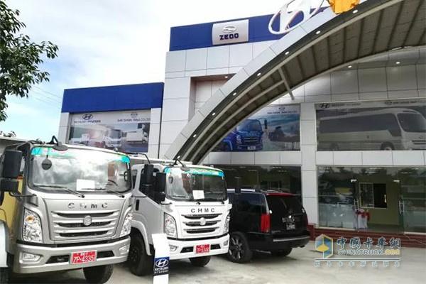 Sichuan Hyundai Opens 4S Stores in Myanmar