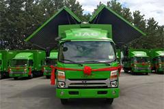 JAC Shuailing Wingspan World Truck+JAC Power