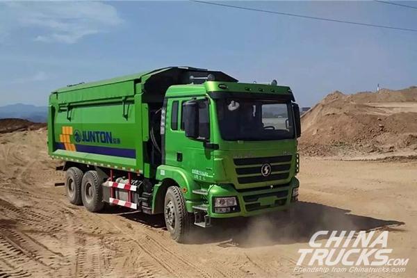Shaanqi Total Dump Trucks Sales Reached 29,503 Units in Jan. to Jun.
