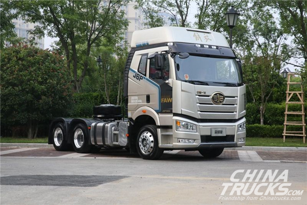 FAW Jiefang Sold 169,000 Units Medium- and Heavy-duty Trucks in H1 2018