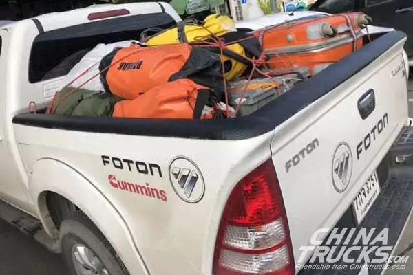 Foton Motor Involved in Cave Rescue Mission in Chiang Rai, Thailand