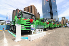 BYD Electric Intelligent Dump Trucks Start Large-scalely Operation in Shenzhen