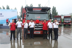 New Foton Auman ETX  Car Transporter Delivered to Customers