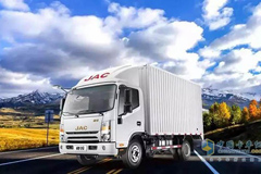 JAC Shuailing New Logistics World Truck Enters Chengdu