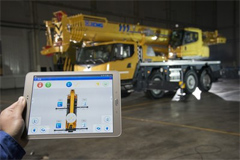 XCMG Delivered Eight Cranes to Customer in Europe