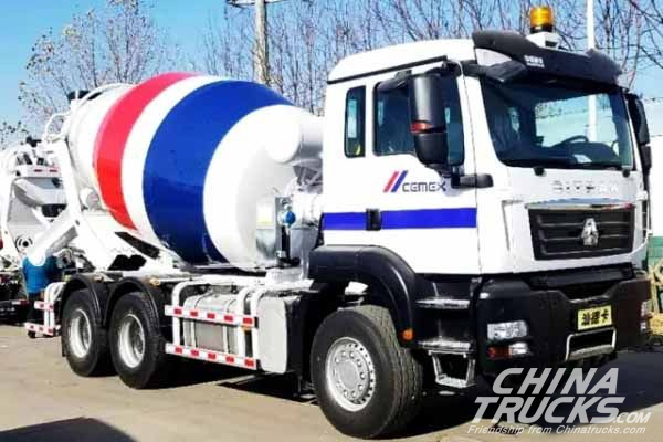 SINOTRUK Qingdao Heavy Industry Secured an order of 288 Mixers from CEMEX
