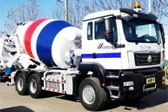 SINOTRUK Qingdao Heavy Industry to Export 288 Mixing Trucks to CEMEX, in Mexico
