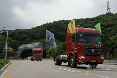 C&C U 260 4×2 LNG Trucks Delivered in Shenzhen