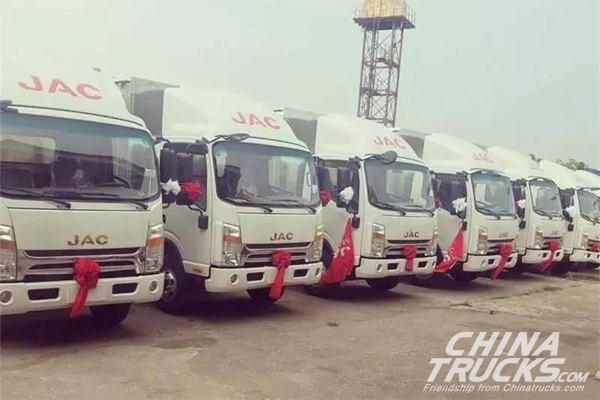 Over 22,000 JAC Shuailing Trucks Sold in Africa