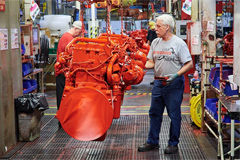 The Two Millionth Heavy Duty Engine Just Produced at Cummins' Jamestown Plant