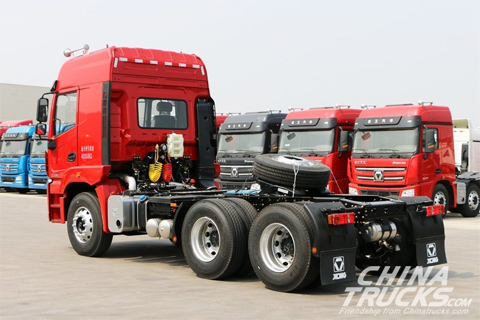 XCMG Hanvan G5 430PS 6X4+Weichai Engine+FAST Transmission