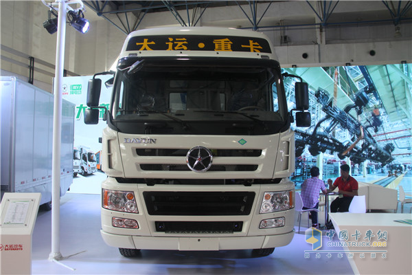 Dayun E8 Heavy-duty Electric Truck Joins the Fight for Blue Skies