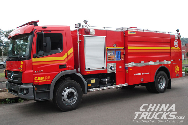 Goiás Fire buys Allison-equipped Mercedes-Benz Atego 1729 units