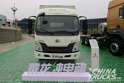 Liuzhou Motor Chenglong L2 Electric Light-duty Truck+Ternary Lithium Battery