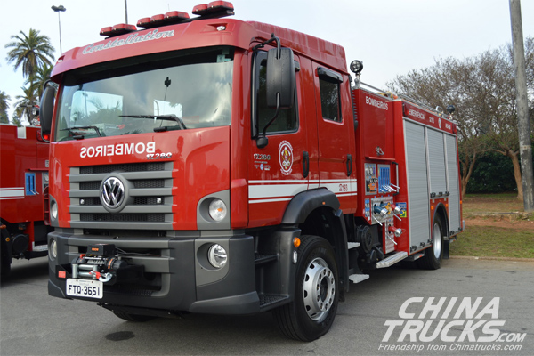 Sao Paulo attests to efficiency of Allison automatics in fire trucks