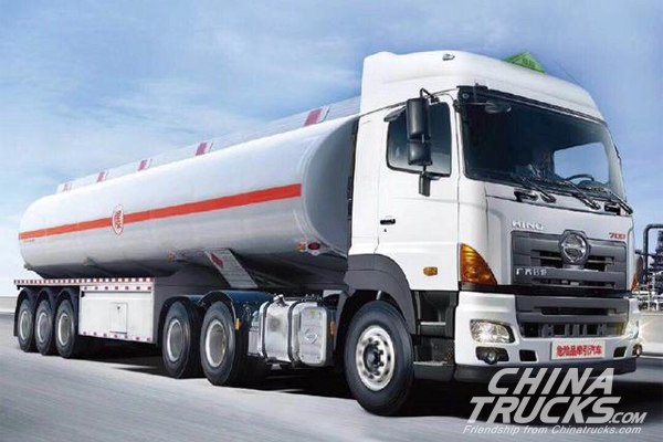GAC Hino Rolls Out 700 Zhenzhi Truck for Transporting Dangerous Chemicals