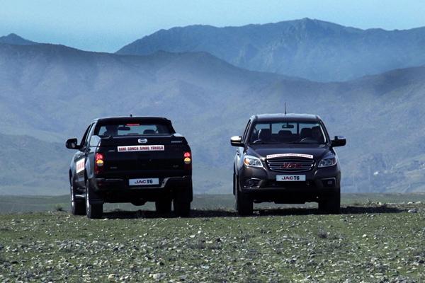 JAC T6 Ranks No.3 Among Chinese Pickup Exportation