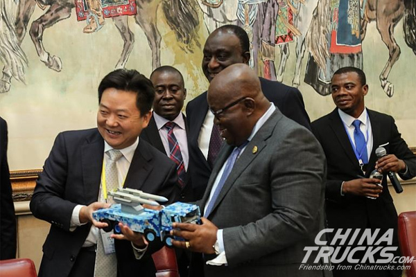 Sinotruk to Set up Truck Assembly Plant in Ghana