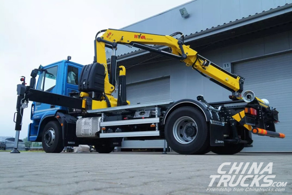 Hyva Presents Innovations for Tipping Solutions and Lifting, Loading and Compact