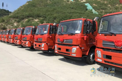 Dongfeng Sold 11,322 Units Medium and Heavy-duty Trucks in August