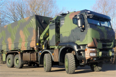Iveco Delivers 100th  8x8  Trakker Truck to the German Armed Forces