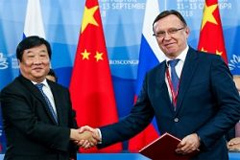 Weichai and Russian KAMAZ Sets up Production of Large Natural Gas Engines