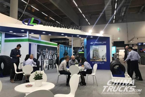 Linglong Displays at Automechanika Frankfurt 2018