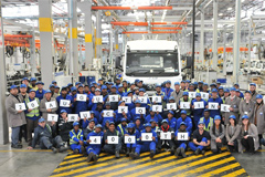 FAW South Africa's Coega Plant Celebrated the Assembly of 4 000th Truck