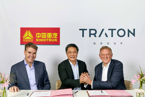 Sinotruk and VW's Traton Group Significantly Expand Strategic Partnership